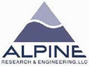 Logo, Alpine Research & Engineering, LLC